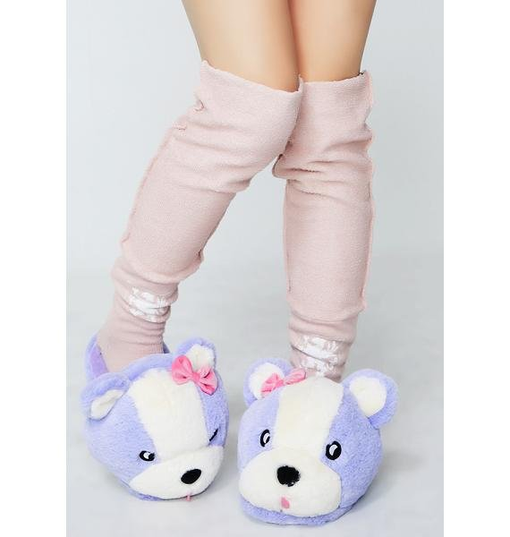 Lazy Oaf Teddy Slipper