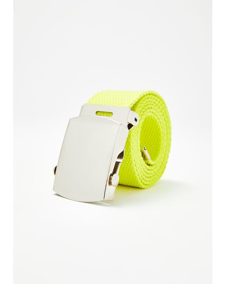 Electric Street Tactics Canvas Belt