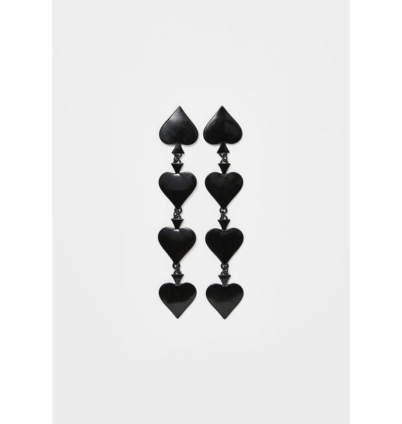 Royal Flush Drop Earrings