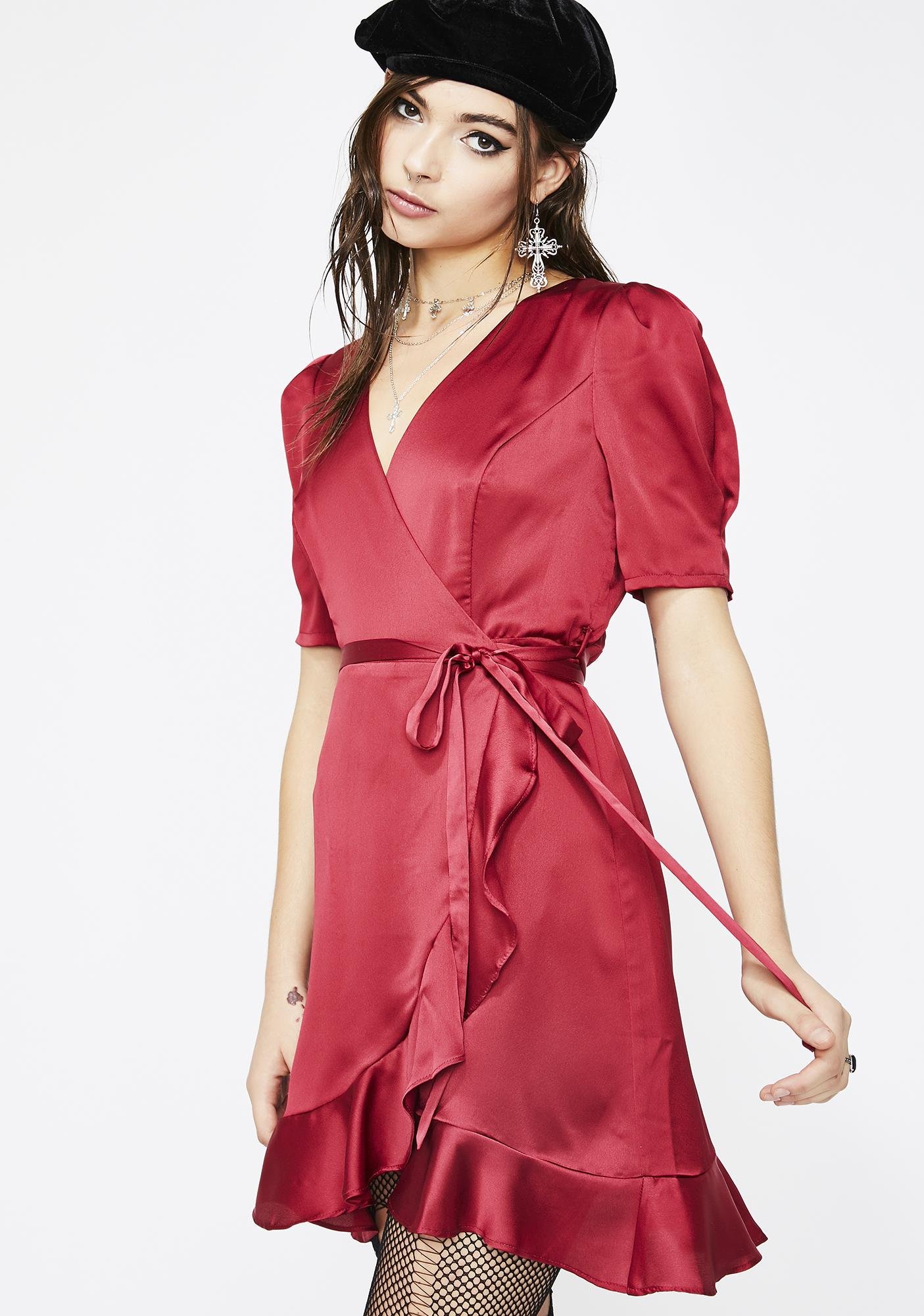 Love's Secret Wrap Dress