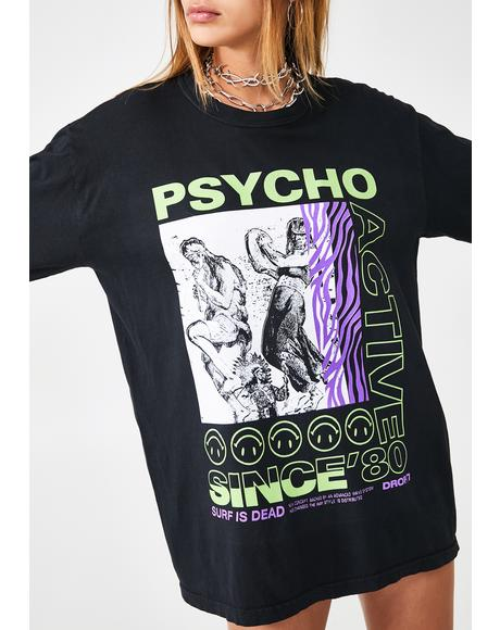Psycho Active Long Sleeve Tee