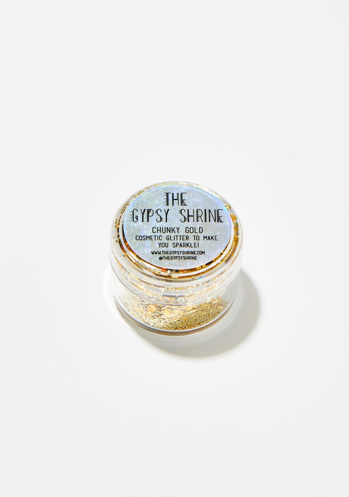 The Gypsy Shrine Chunky Gold Glitter