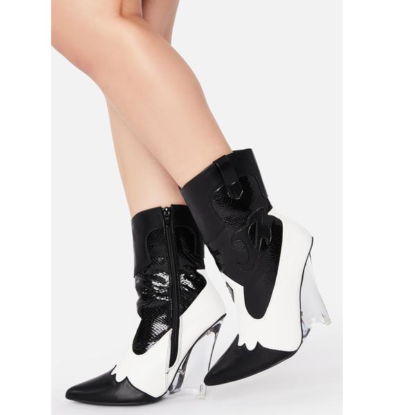 Last Goodbye Heeled Cowboy Boots