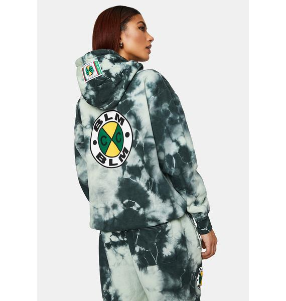 Cross Colours CXC BLM Circle Logo Pullover Hoodie