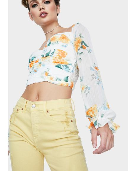 Sun Soaked Crop Top