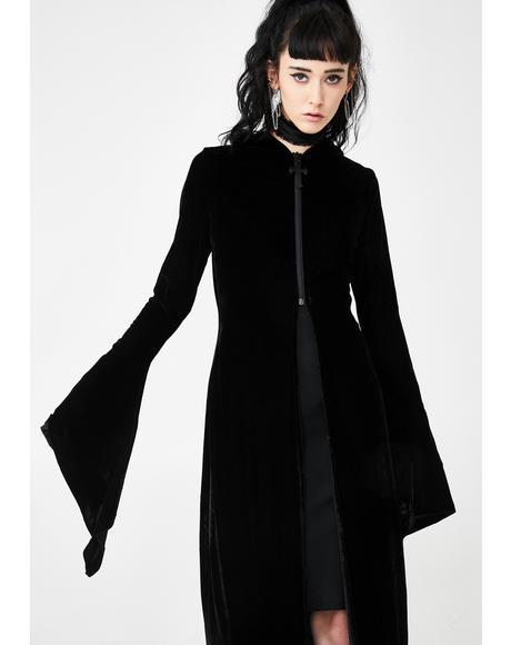Lucinda Velvet Cloak