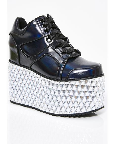 Onyx Glamtronic Platform Sneakers