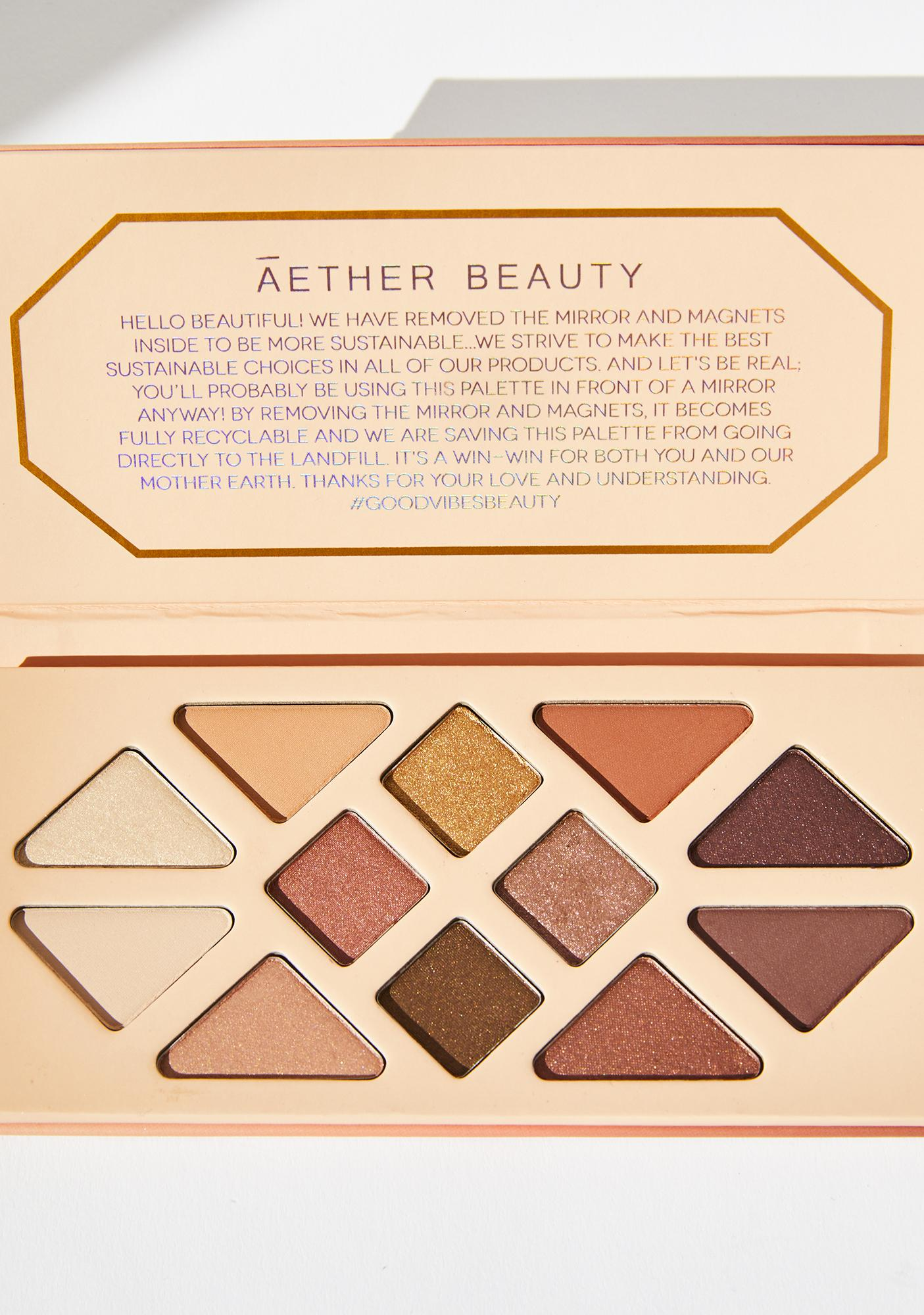 Aether Beauty Summer Solstice Crystal Charged Eyeshadow Palette