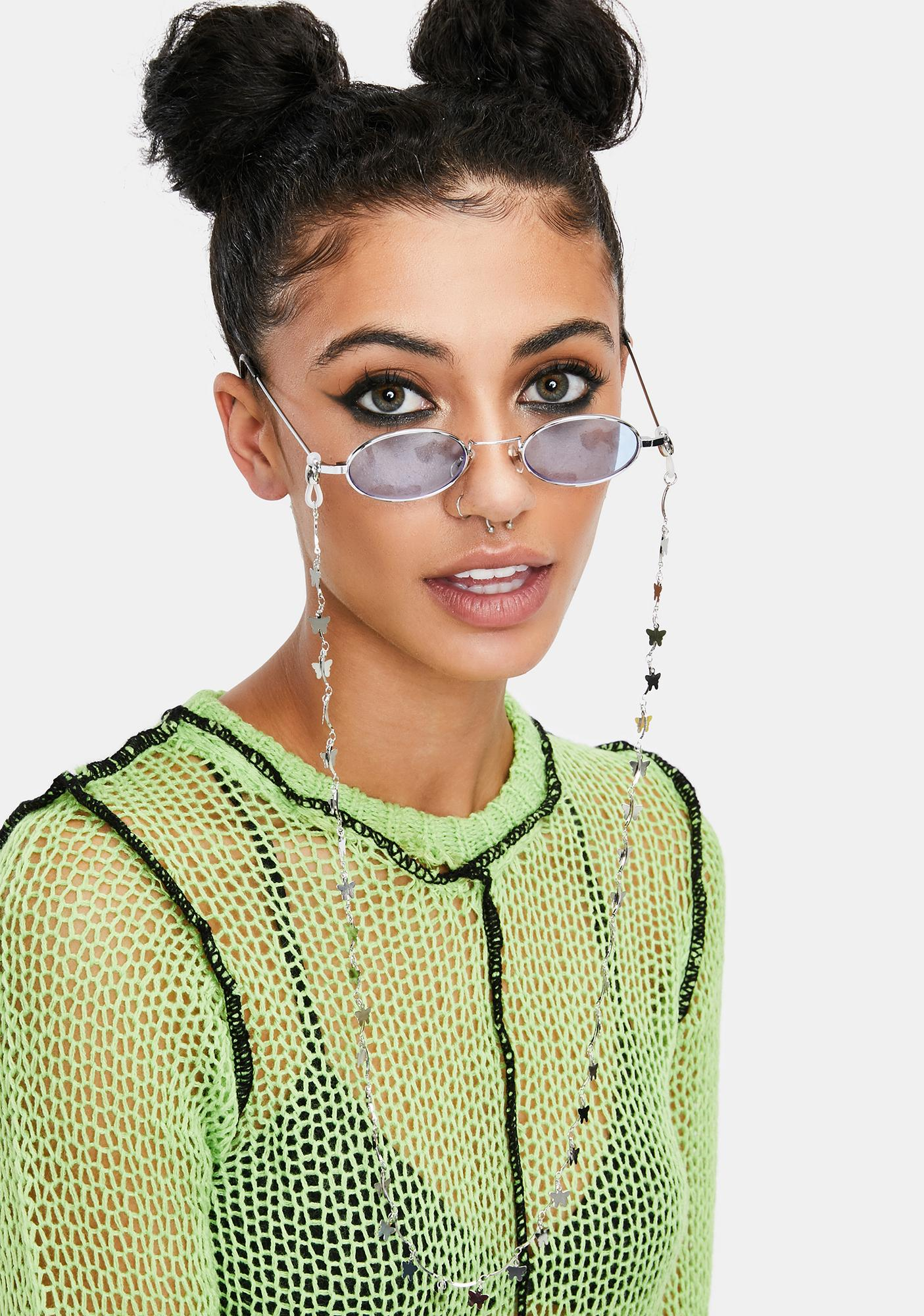 Gilded Holding On Sunglasses Chain