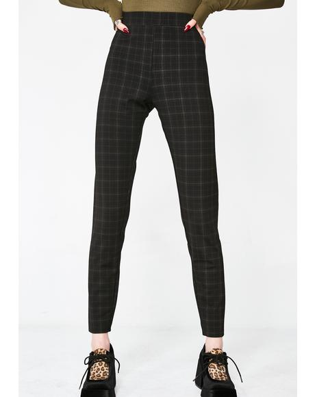 Almost Home Plaid Leggings