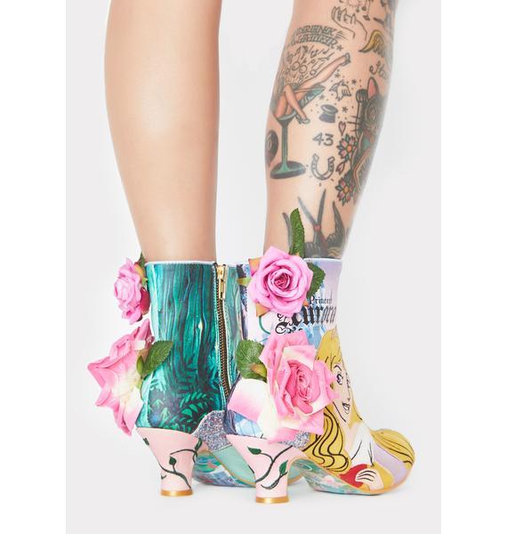 Irregular Choice Princess Of Beauty Ankle Boots