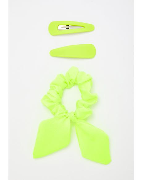 Atomic Alwayz Cute Hair Clips Set