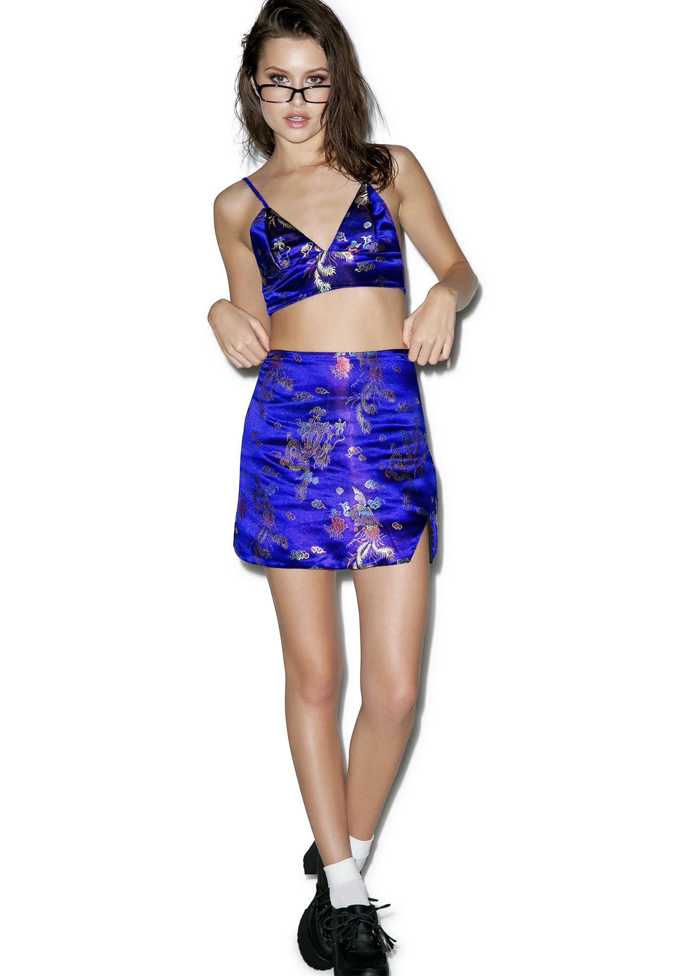 O Mighty Chun Li Mini Skirt