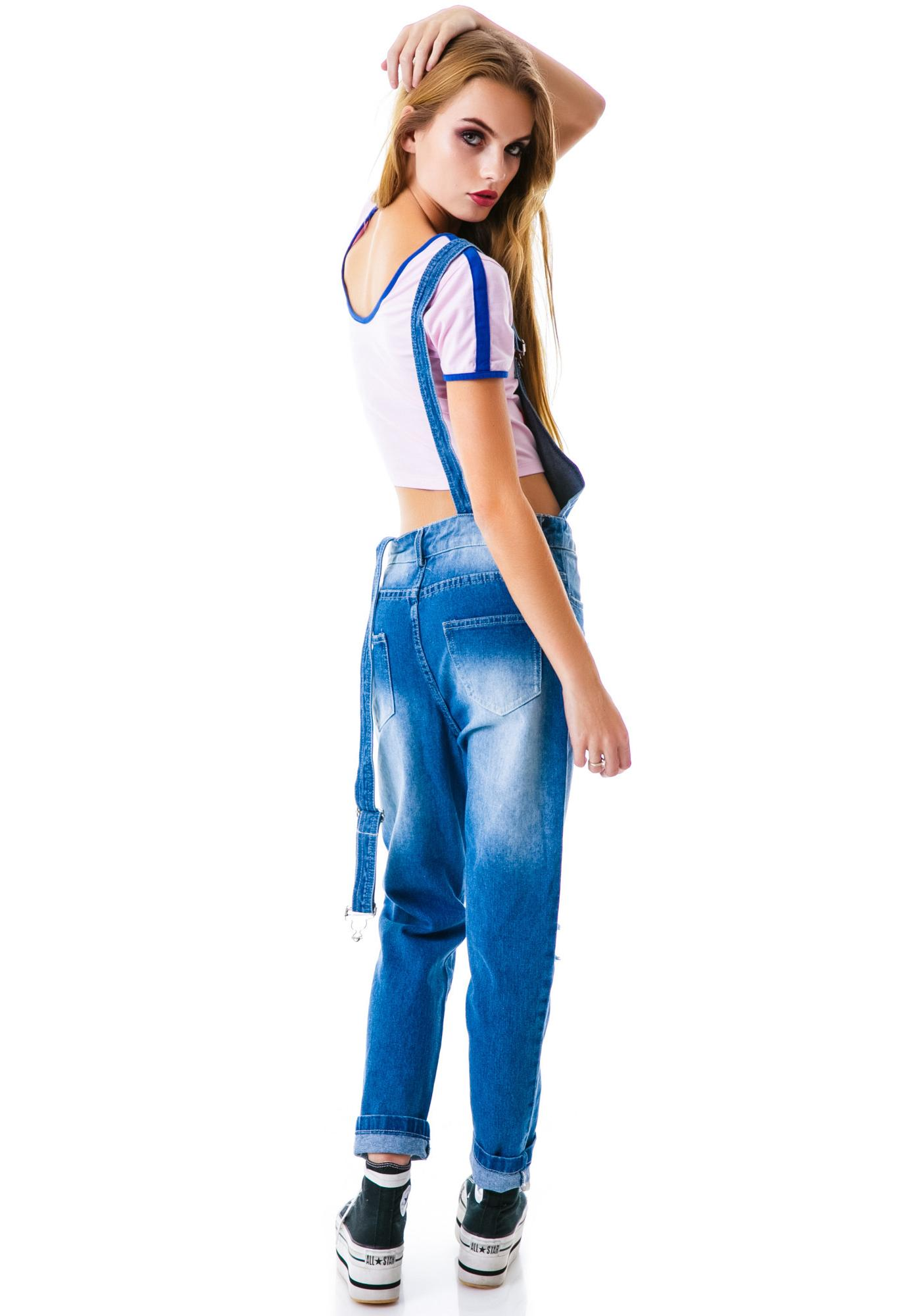 The New Classic Denim Overall