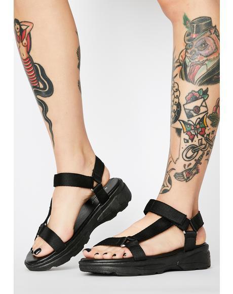 Onyx Flex Alert Strappy Sandals