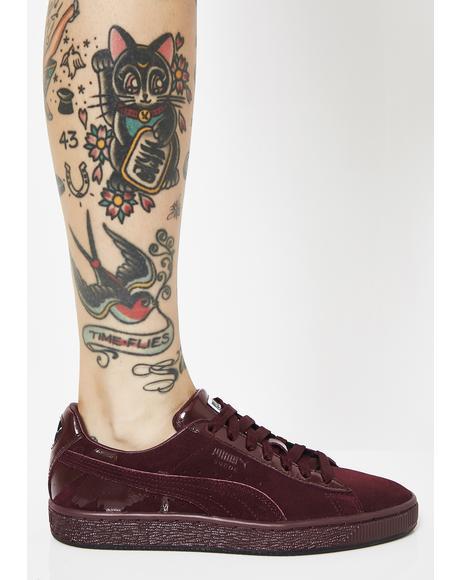 x MAC Three Suede Classic Sneakers