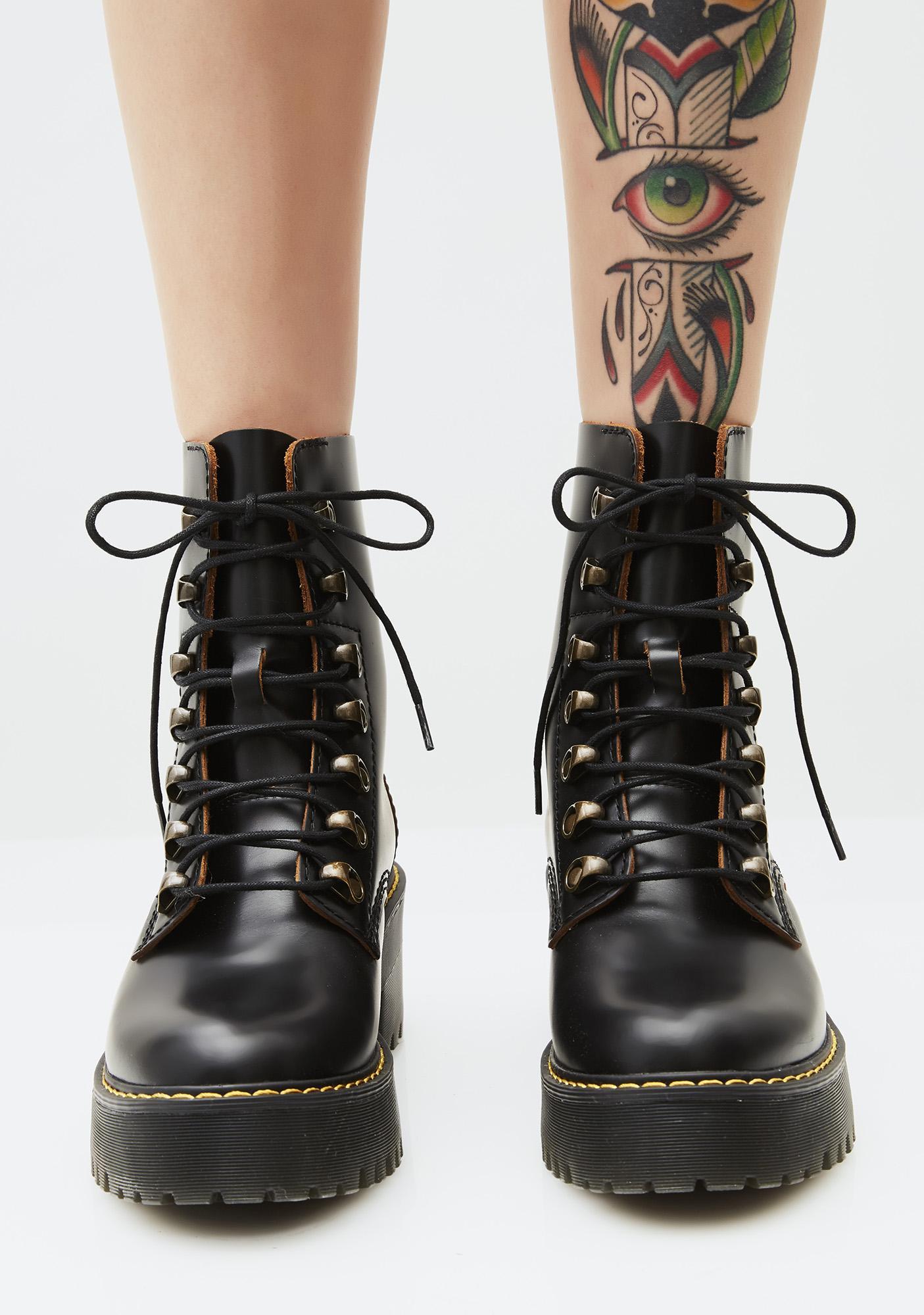 89d5caa0a Dr. Martens Leona Boots | Dolls Kill