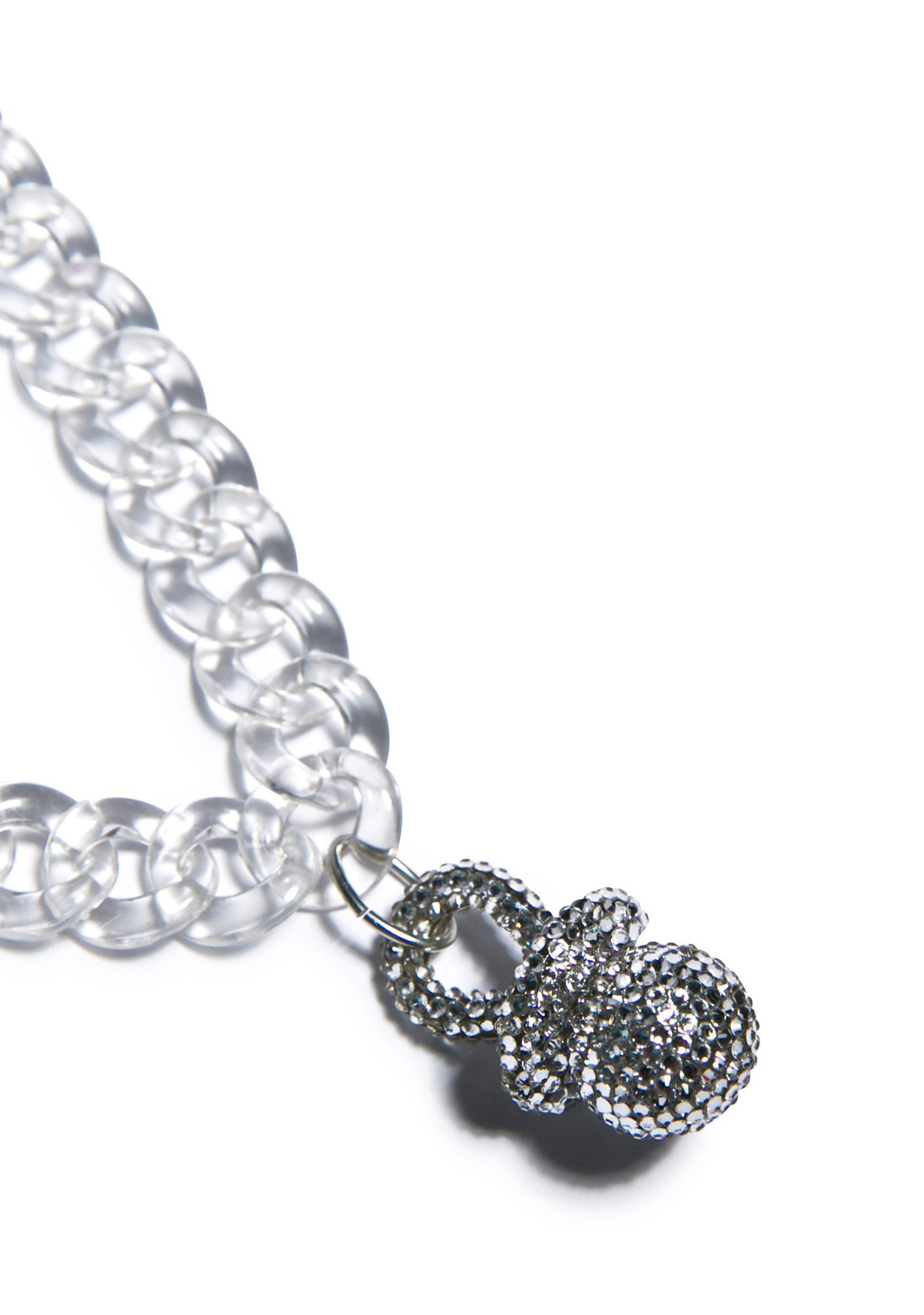 The Candy Kids Bling Bling Binky Choker