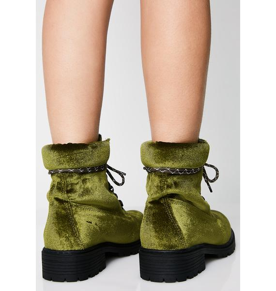 Olive Twerk It Out Booties