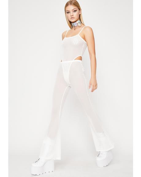 Untamed Techno Sheer Pant Set