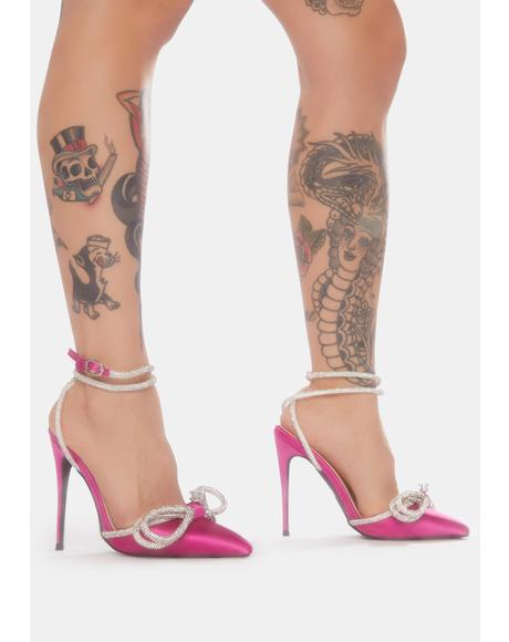 Fuchsia Live Work Pose Stiletto Heels