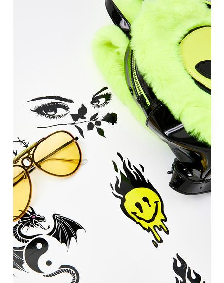 Lil Punk Temporary Tattoos