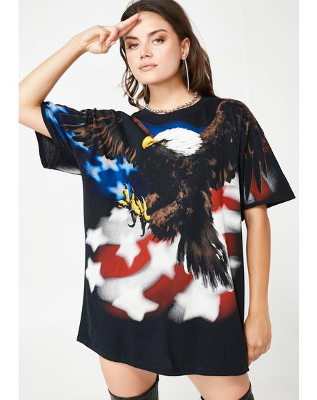 United We Slay Eagle Graphic Tee