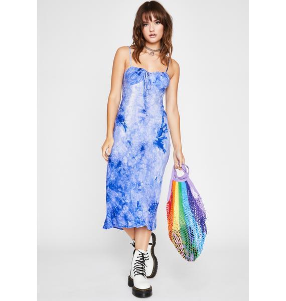 Peace Maker Tie Dye Dress