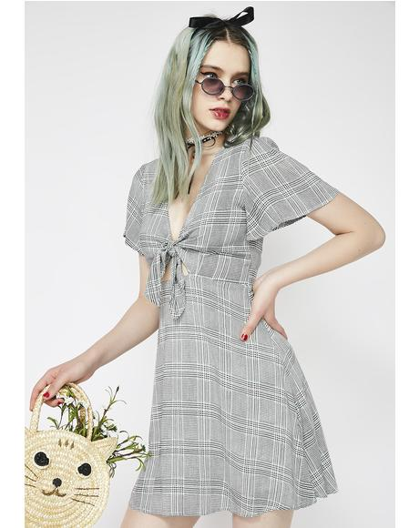 Picnic Bae Tie Front Dress