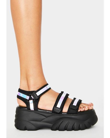 Cycle Platform Sandals