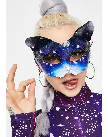 Space Kitten Costume Mask
