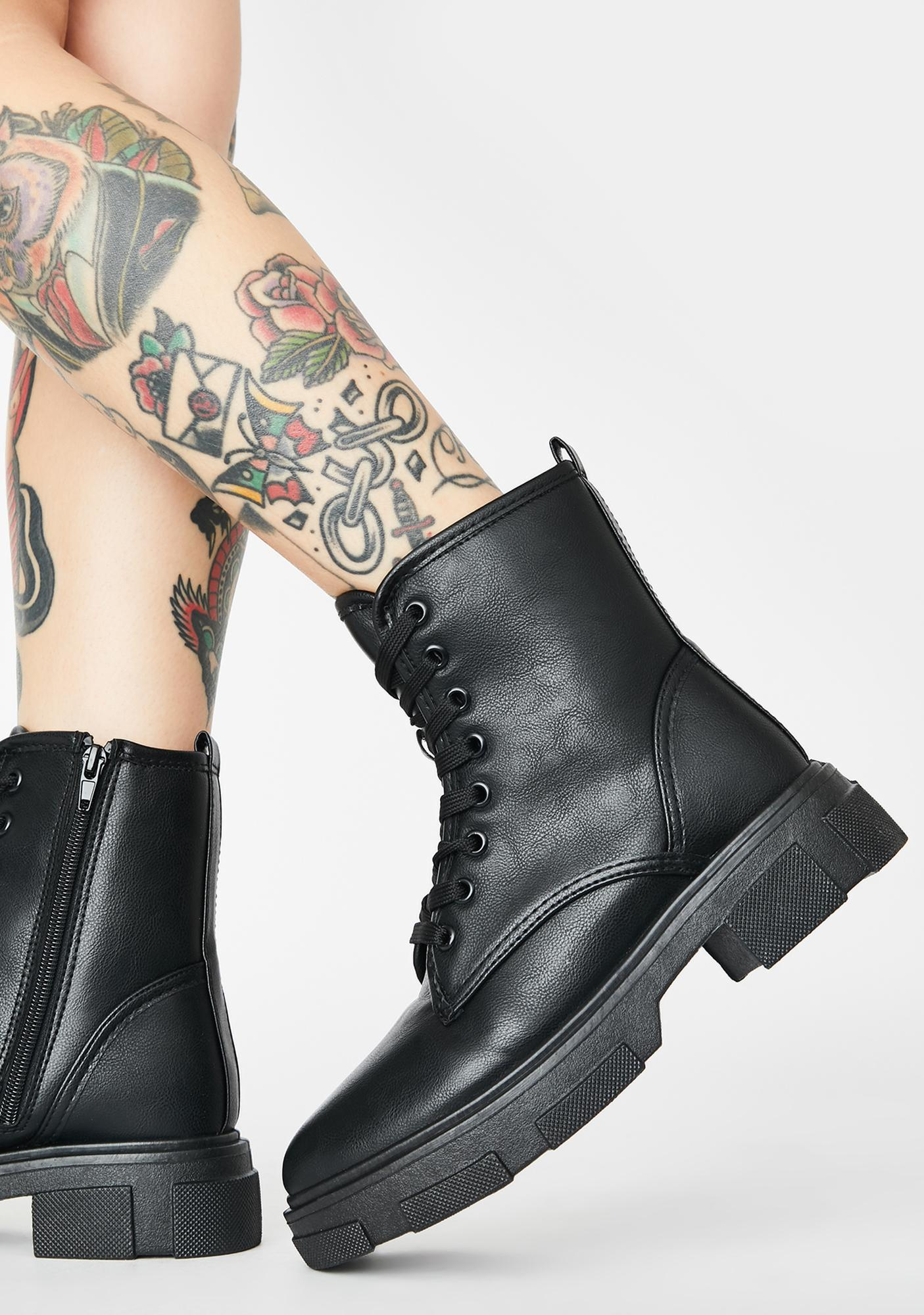 The Dopeness Combat Boots