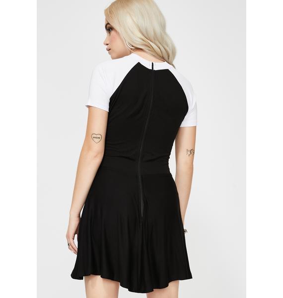 Vera's Eyecandy Baphomet Babydoll Dress
