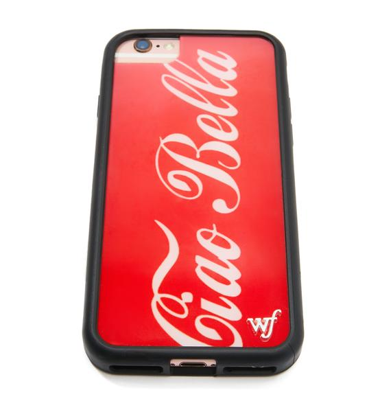 Wildflower Ciao Bella iPhone Case