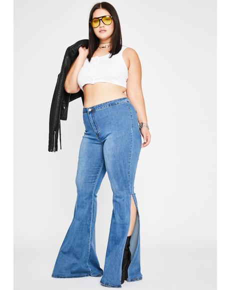 Mz Movin' N' Groovin' Flare Pants