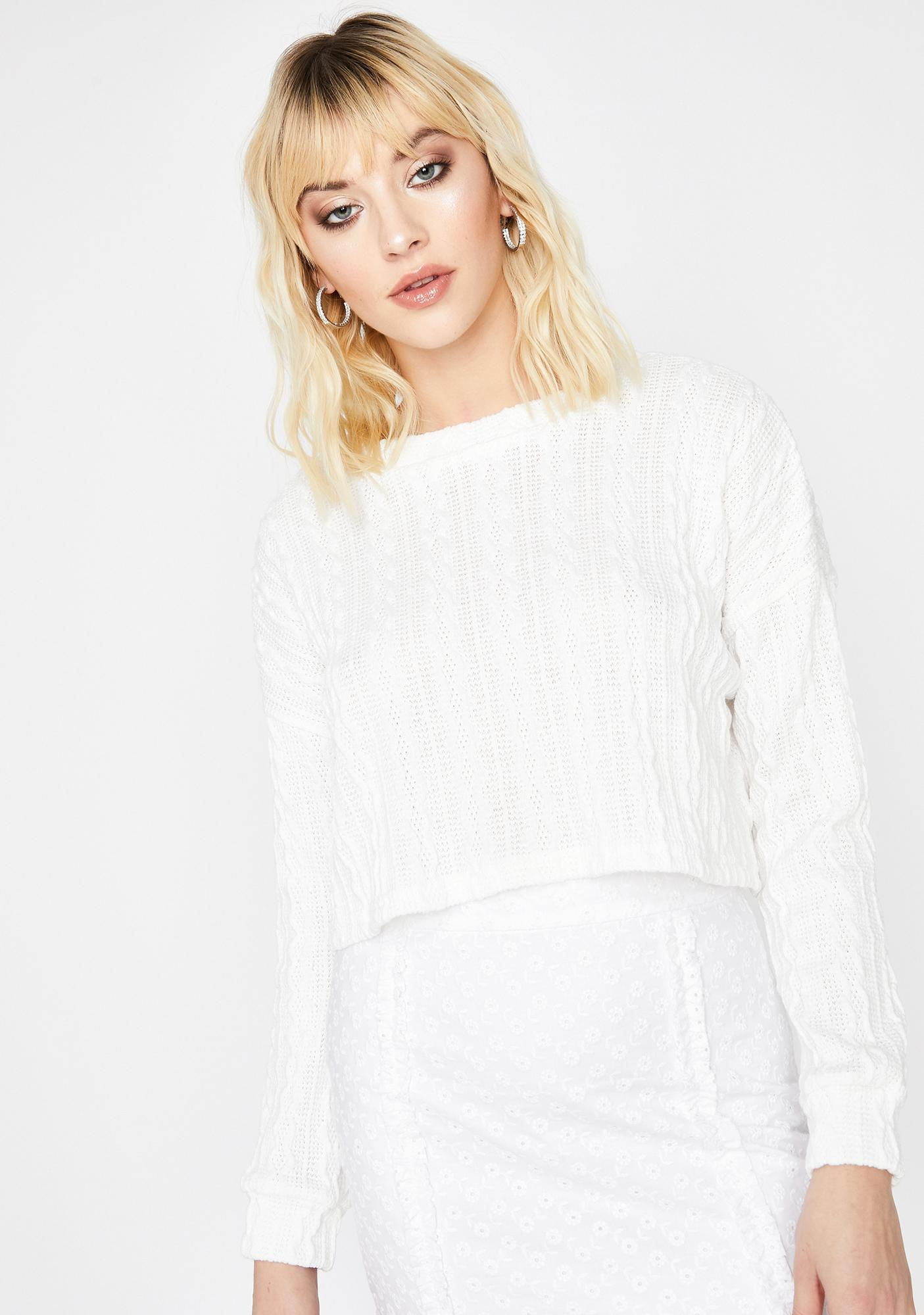 Missed Calls Knit Sweater