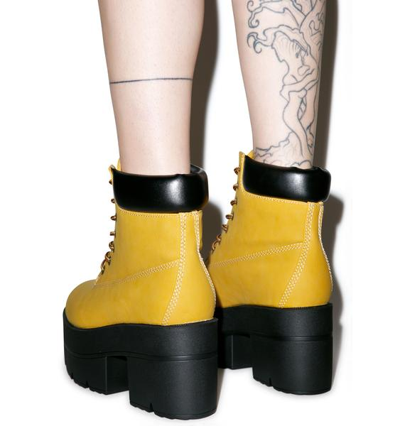 Classic Ryder Platform Boots