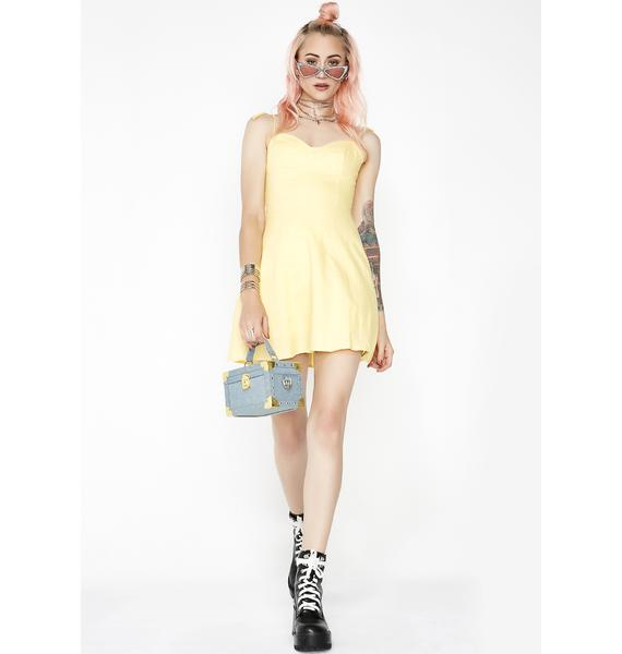 Mellow Daze Bustier Dress