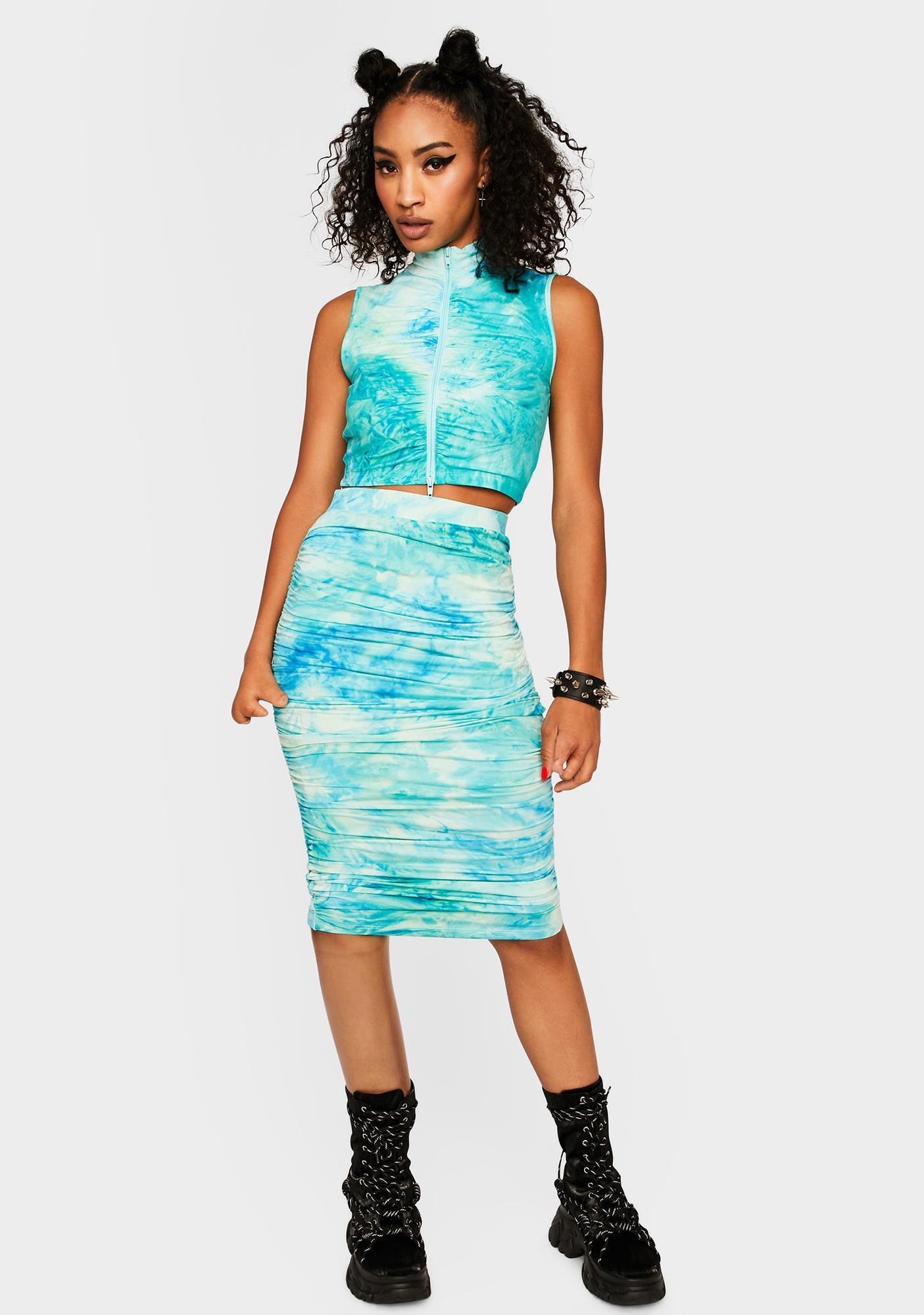 Do You Wanna Skirt Set