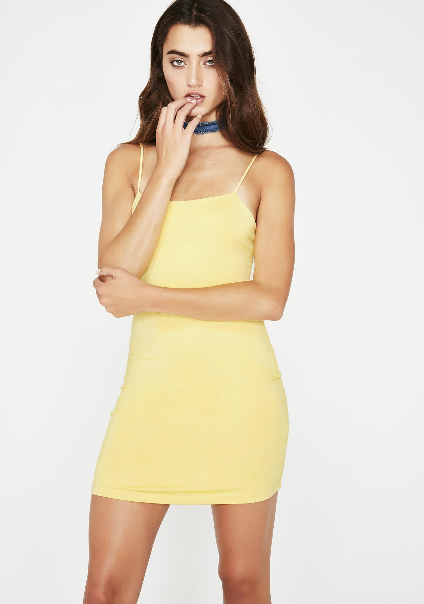 Slow Down Cami Dress