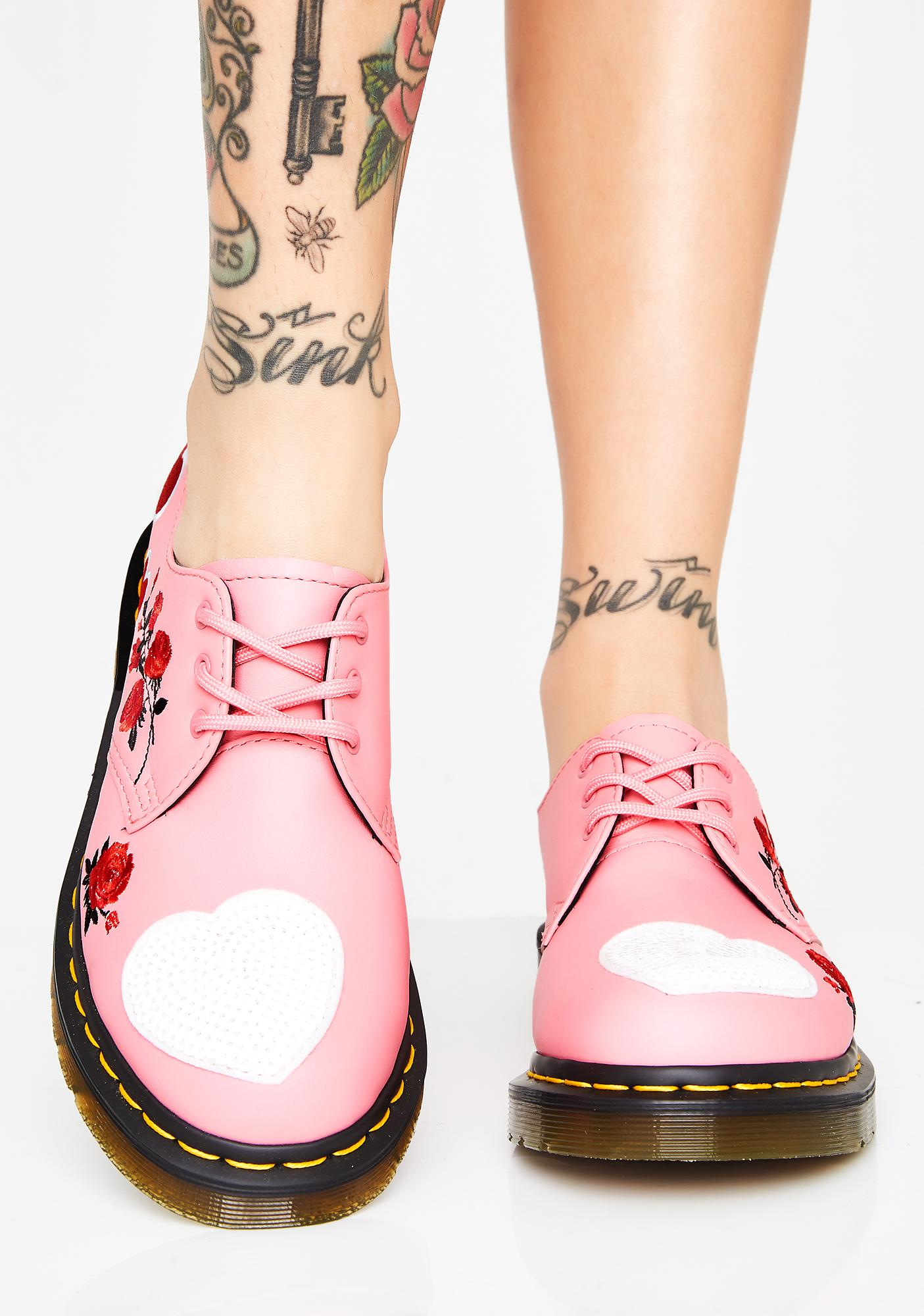 Dr. Martens 1461 Hearts Oxfords