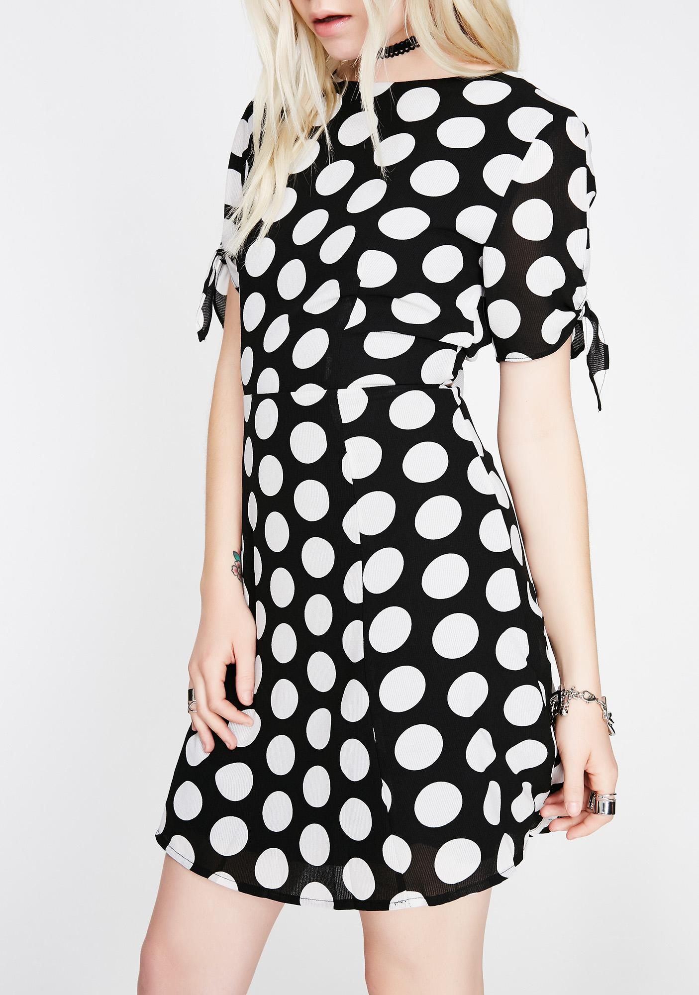 Got The Tea Polka Dot Dress