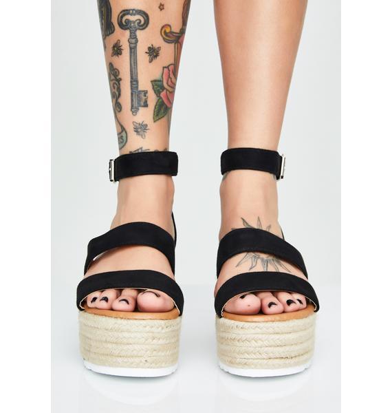 Bossy Baby Platform Sandals