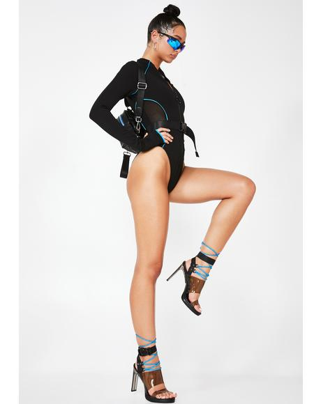 Savage Doll Lace-Up Heels