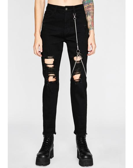 Night Rider Chained Jeans