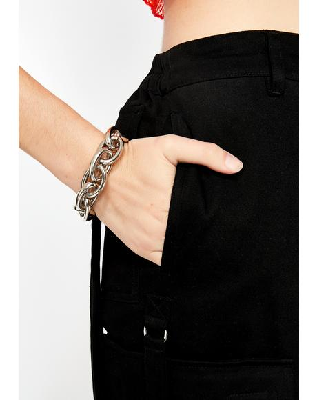 Punk Chic Chain Bracelet