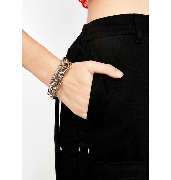 Punk Chic Chain Bracelet