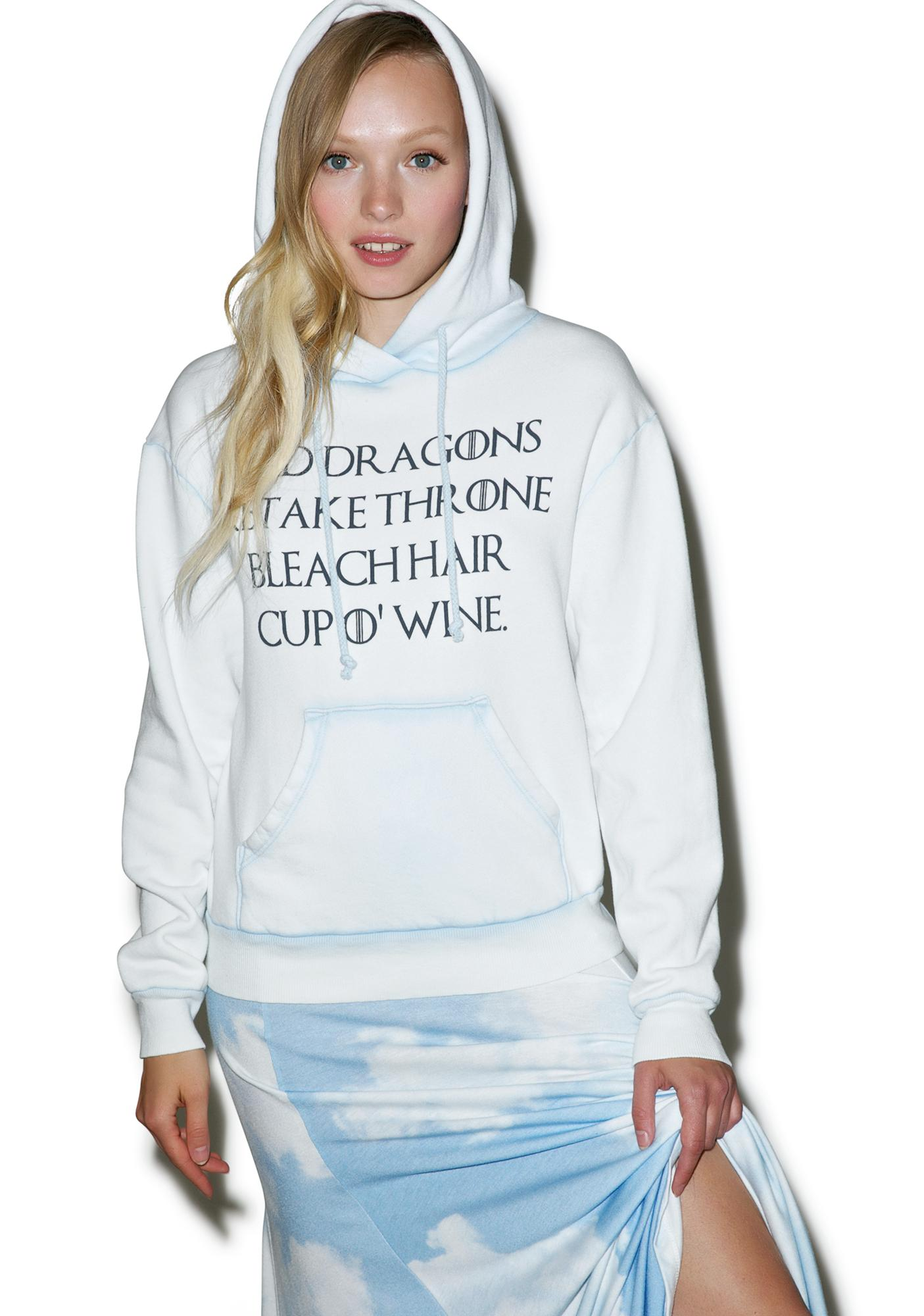 Wildfox Couture Danaery's Life Cuddles Hoodie