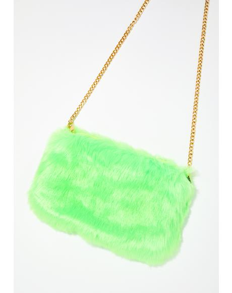 Slime Disposition Furry Shoulder Bag