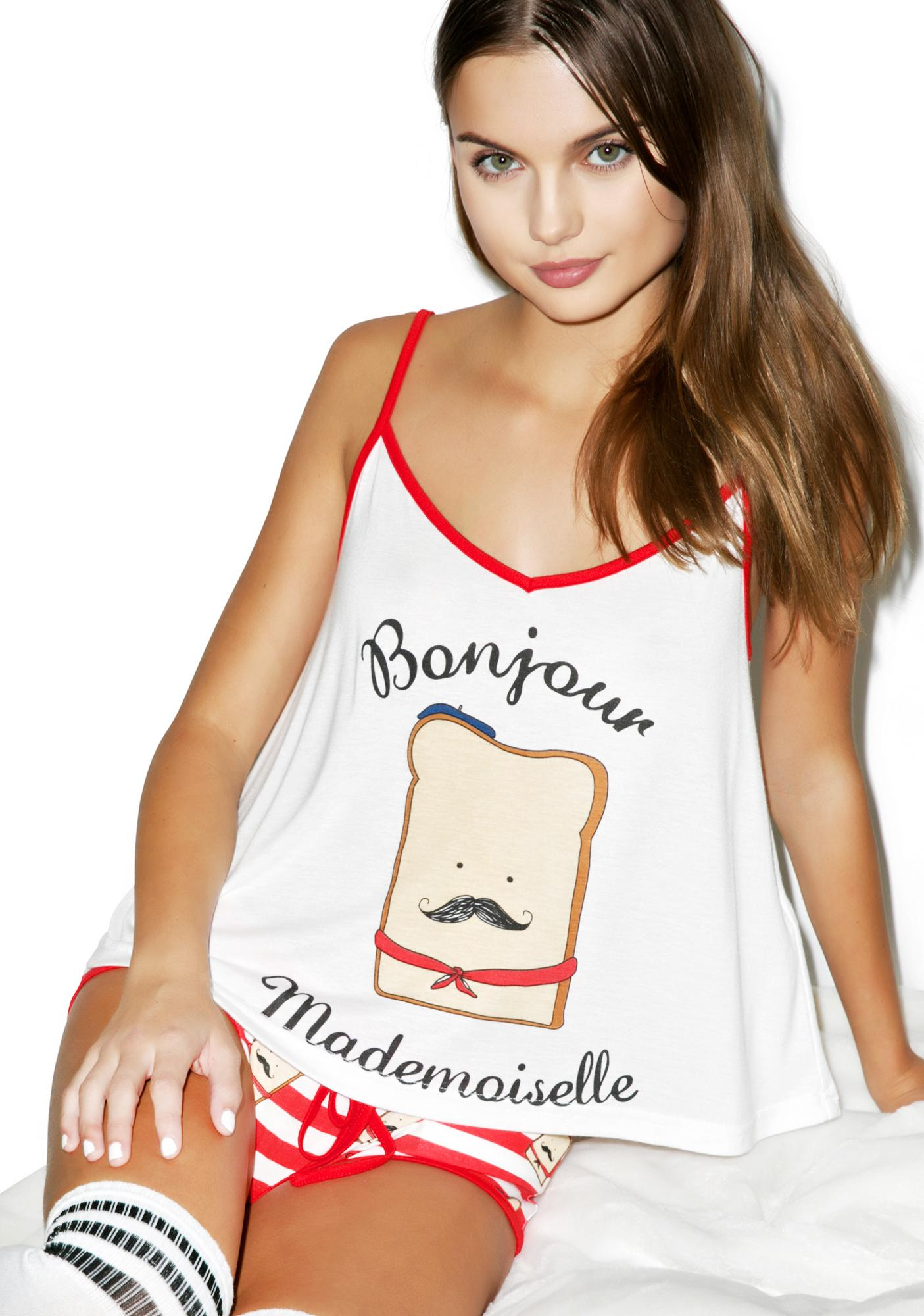 Mink Pink French Toastie Cami